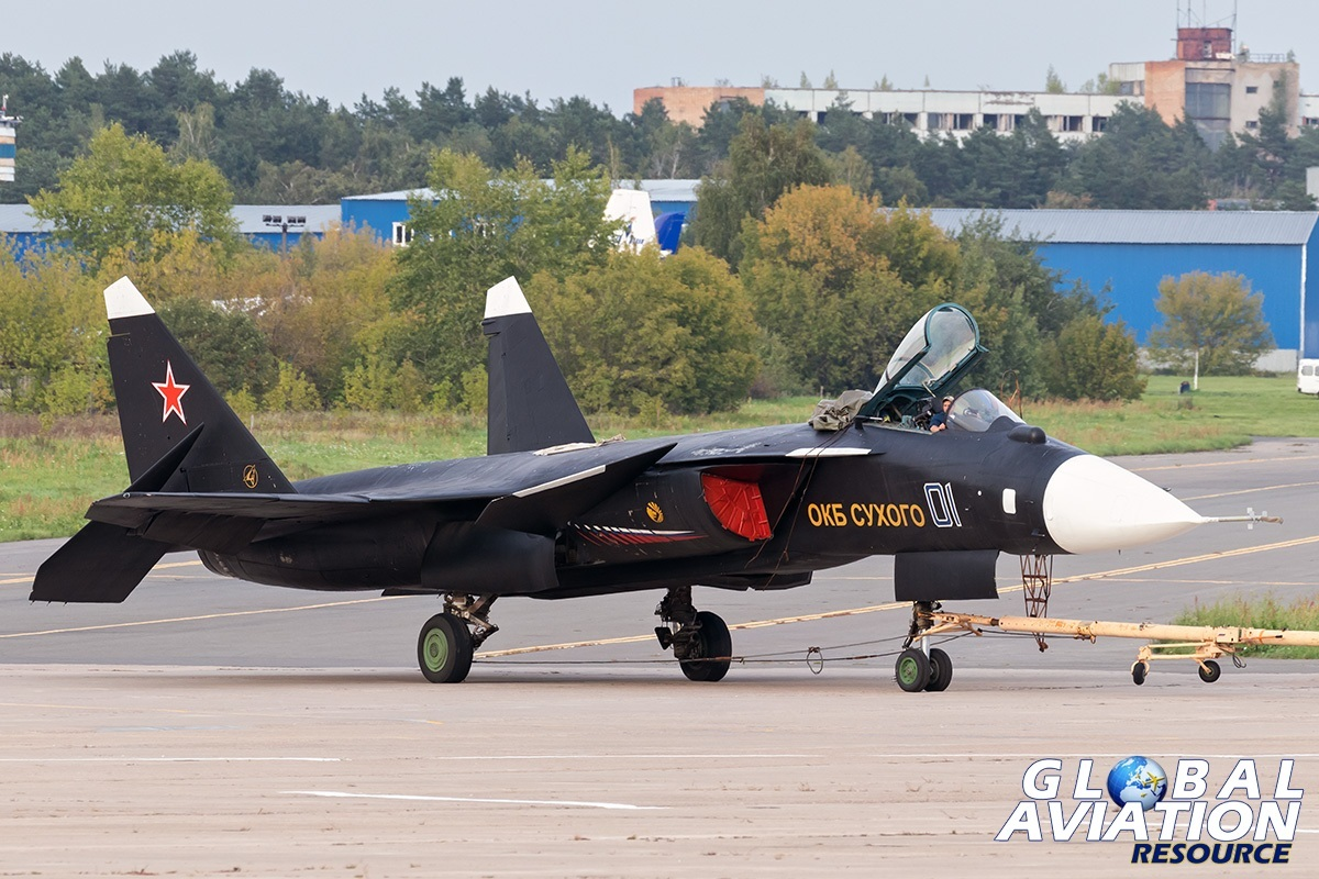 Su-47 - © Paul Filmer, Global Aviation Resource