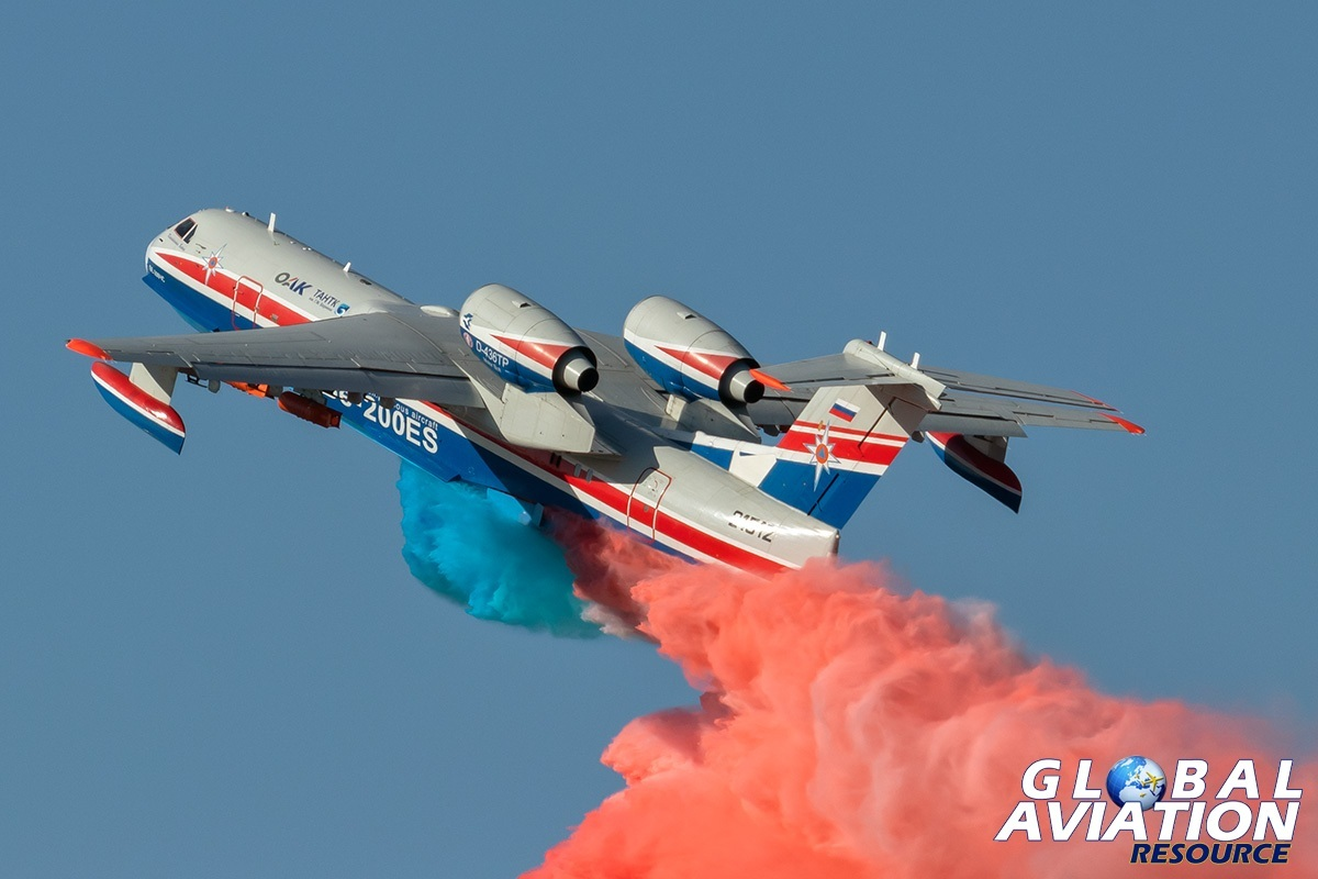 Beriev Be-200ES - © Paul Filmer, Global Aviation Resource