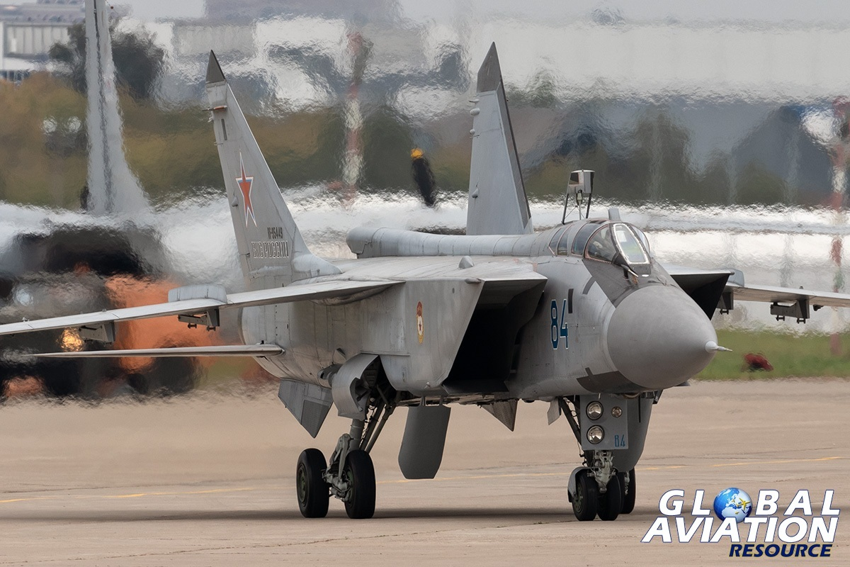 Russian Air Force MiG-31BM - © Paul Filmer, Global Aviation Resource