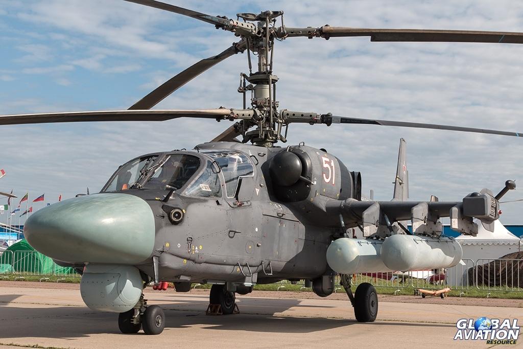 Ka-52 - © Paul Filmer - globalaviationresource.com