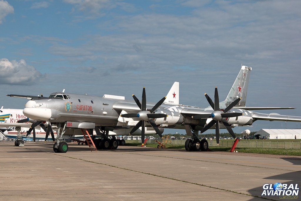 Tu-95MS - © Paul Filmer - globalaviationresource.com