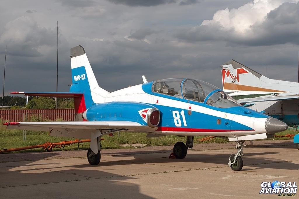 MiG-AT - © Paul Filmer - globalaviationresource.com