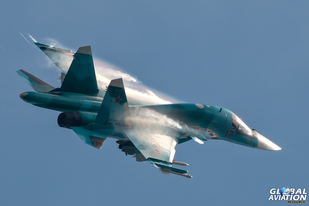 Su-34 - © Paul Filmer - globalaviationresource.com