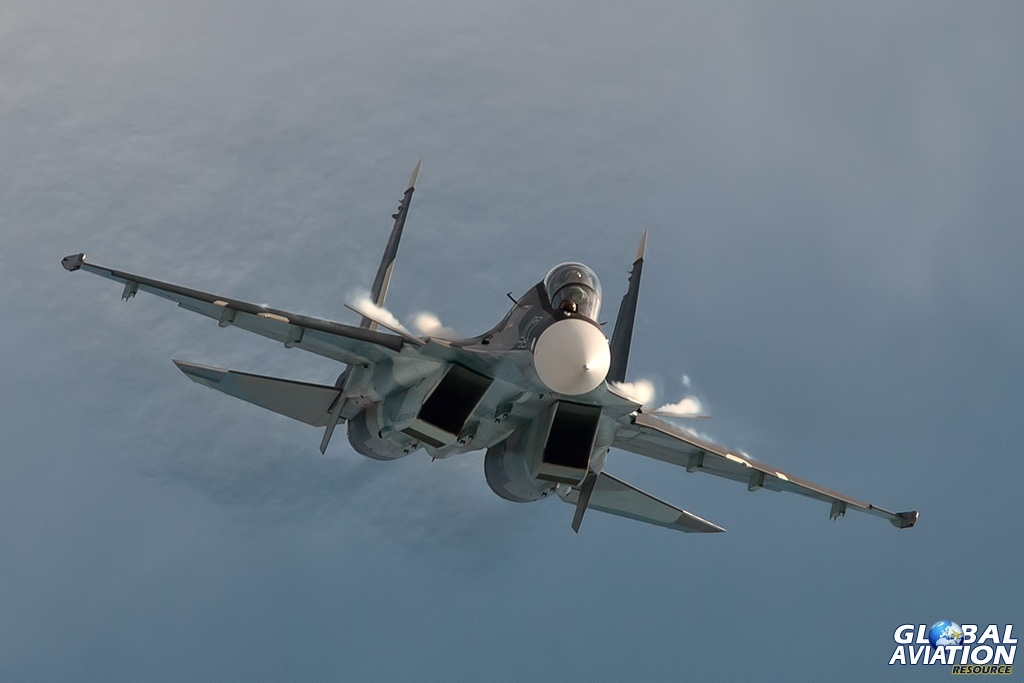 Su-30SM - © Paul Filmer - globalaviationresource.com