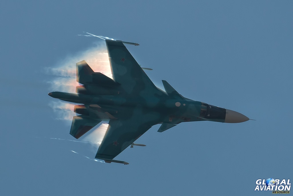 Su-34 - © Paul Filmer - globalaviationresource.com
