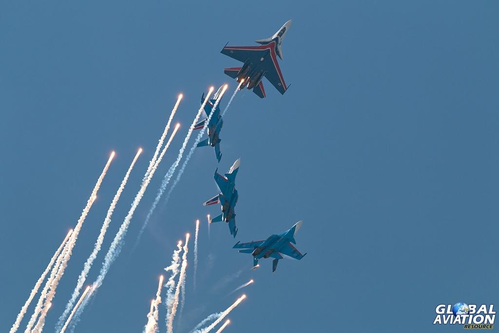 Swifts Su-30SM - © Paul Filmer - globalaviationresource.com