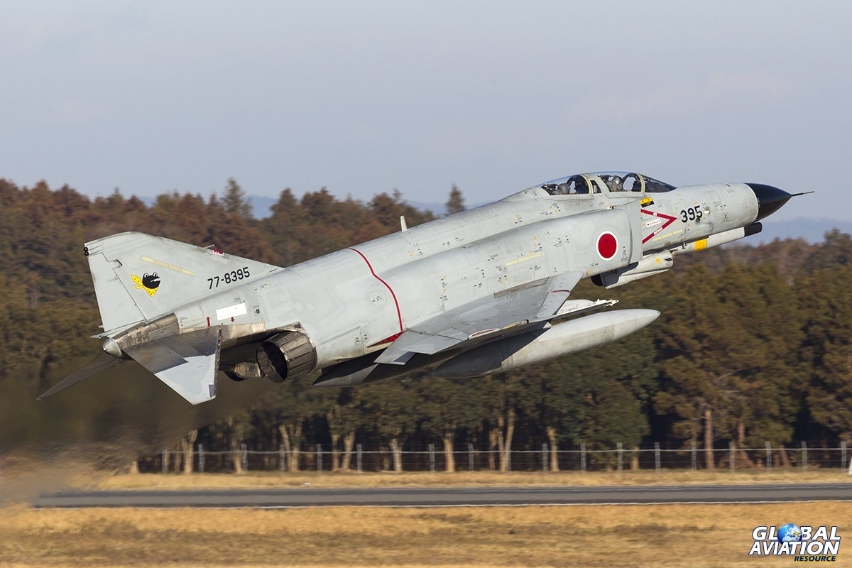 77-8395/395 F-4EJ Kai JASDF/301 Hikotai, Hyakuri AB 16 January 2019 © Tom Gibbons - Global Aviation Resource