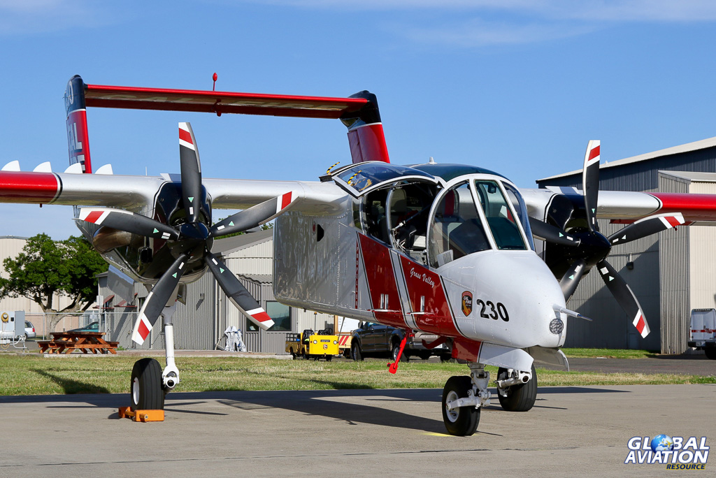 CAL FIRE OV-10 Bronco © Paul Dunn - Global Aviation Resource