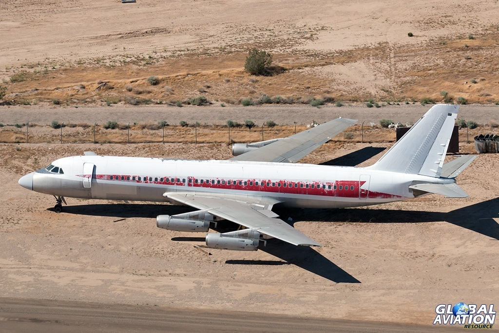 ex TWA CV-800 N815AJ - © Paul Filmer - Global Aviation Resource