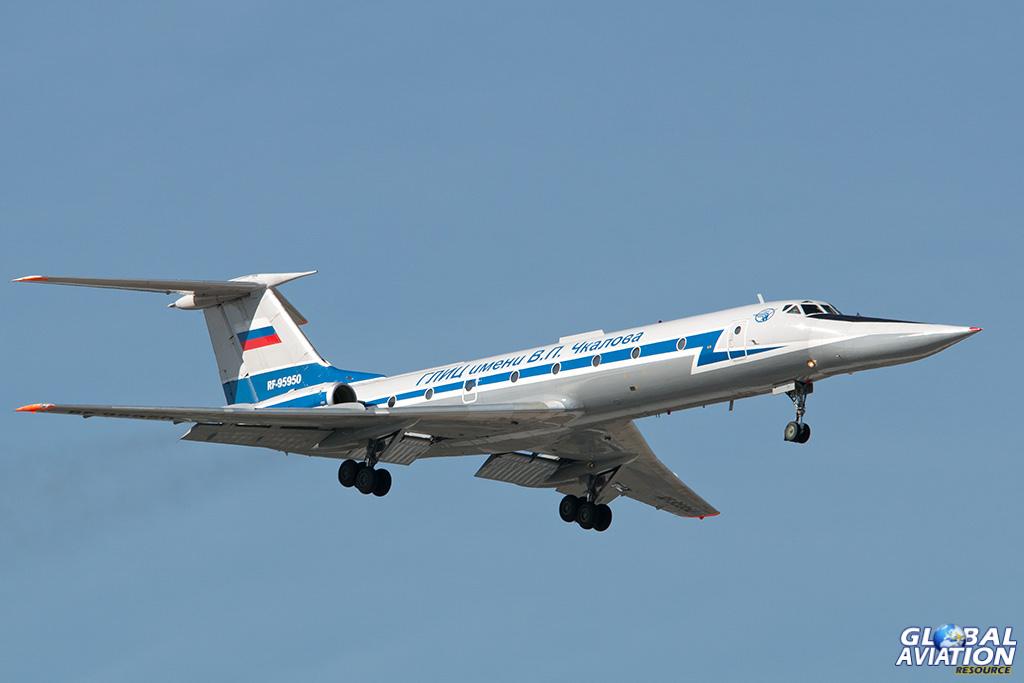 Russian Air Force Tu-134UBL at Chkalovsky - © Paul Filmer - Global Aviation Resource
