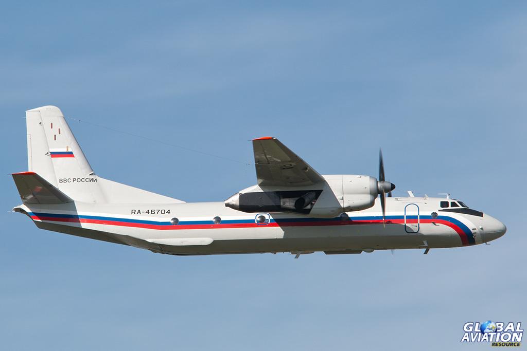 Russian Air Force An-26 at Chkalovsky - © Paul Filmer - Global Aviation Resource