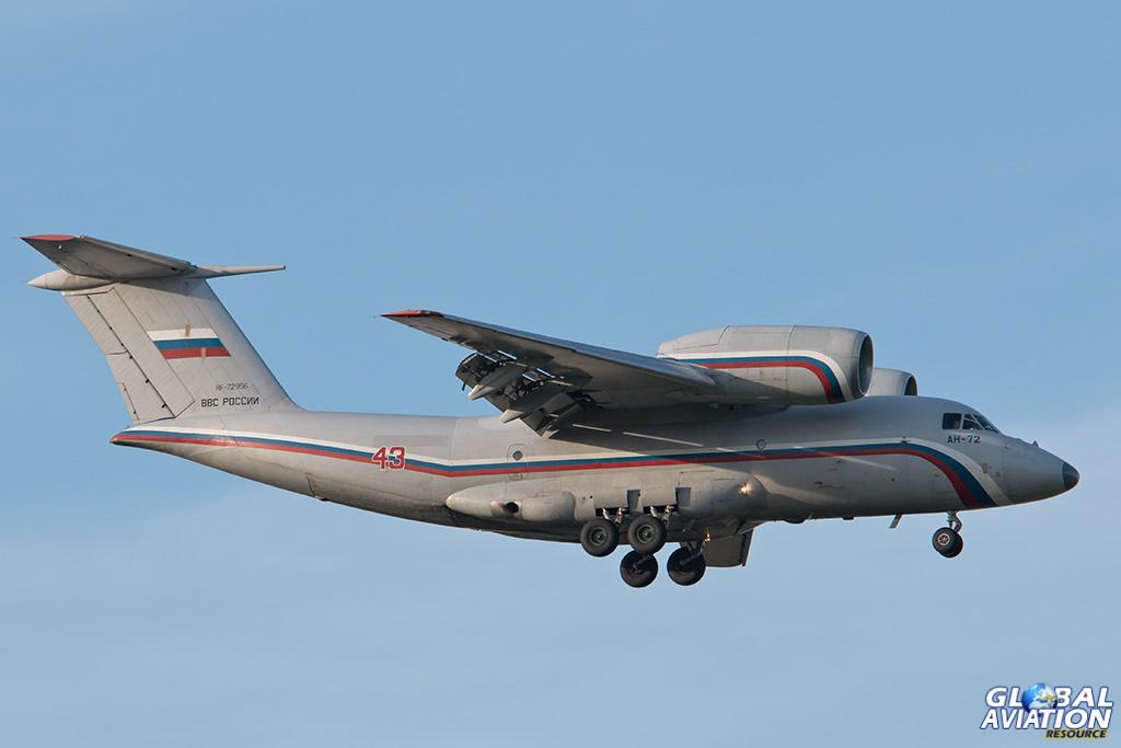 Russian Air Force An-72 at Chkalovsky - © Paul Filmer - Global Aviation Resource