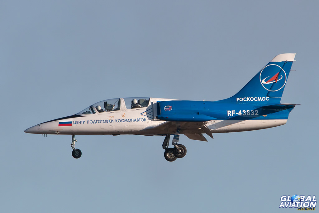 Roscosmos L-39C at Chkalovsky - © Paul Filmer - Global Aviation Resource