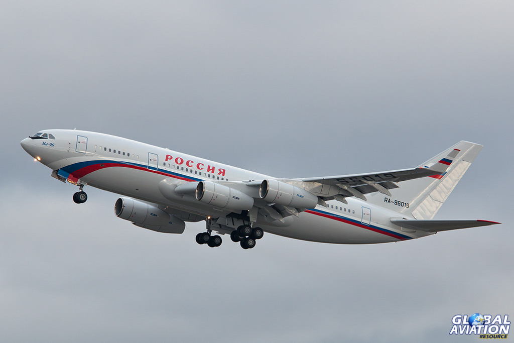 Rossiya Il-96-300 at Vnukovo - © Paul Filmer - Global Aviation Resource