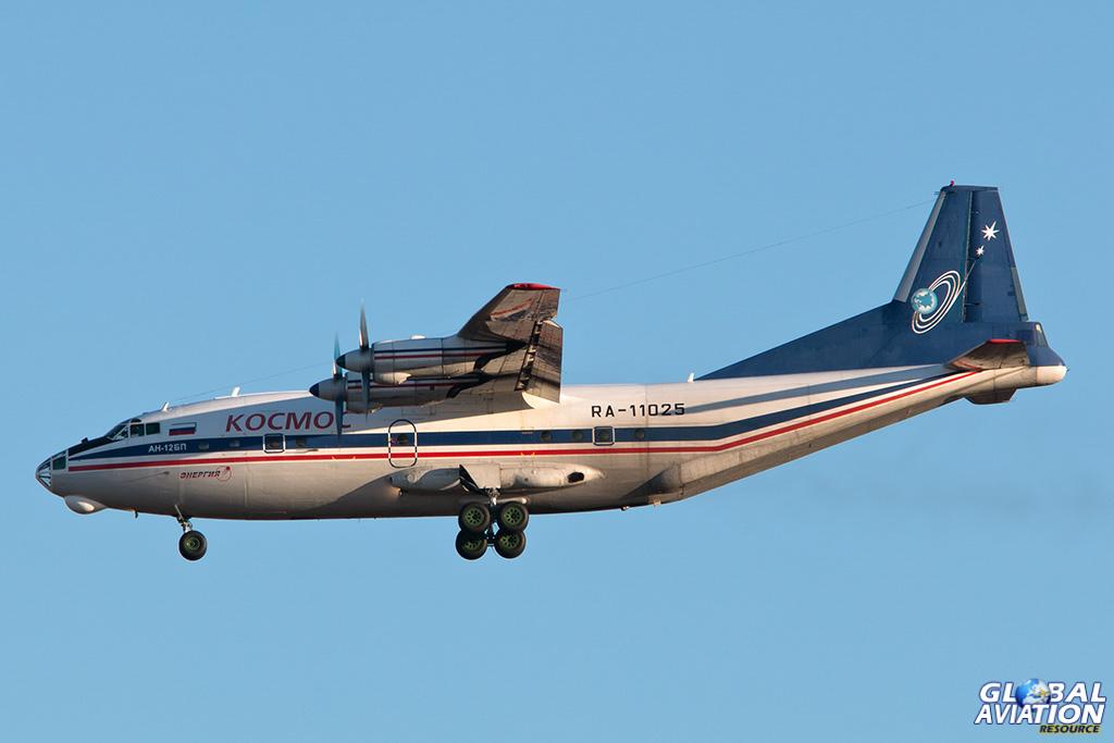Kosmos An-12B at Vnukovo - © Paul Filmer - Global Aviation Resource