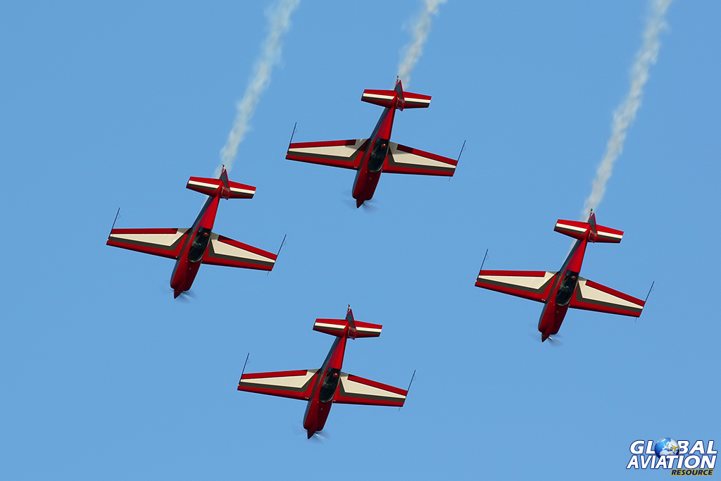 EA300L, Royal Jordanian Falcons © Dean West – Global Aviation Resource