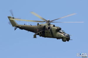 Mi-24V Hind © Dean West – Global Aviation Resource