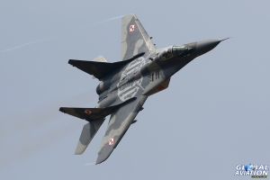 MiG-29A Fulcrum © Dean West – Global Aviation Resource