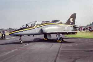 A 100 Sqn jet at Mildenhall in 1992 © Rob Edgcumbe - www.globalaviationresource.com