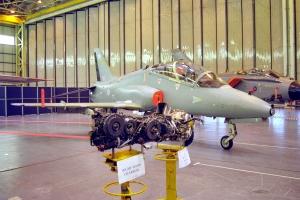 A T1W on loan to BAe in the Warton hangars  © Rob Edgcumbe - www.globalaviationresource.com