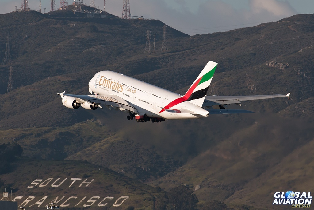 Emirates Airbus 380 - © Paul Filmer - Global Aviation Resource