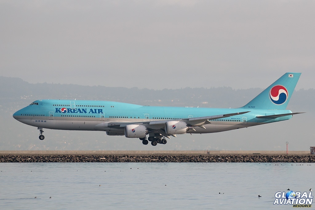 Korean Air Boeing 747-8 - © Paul Filmer - Global Aviation Resource