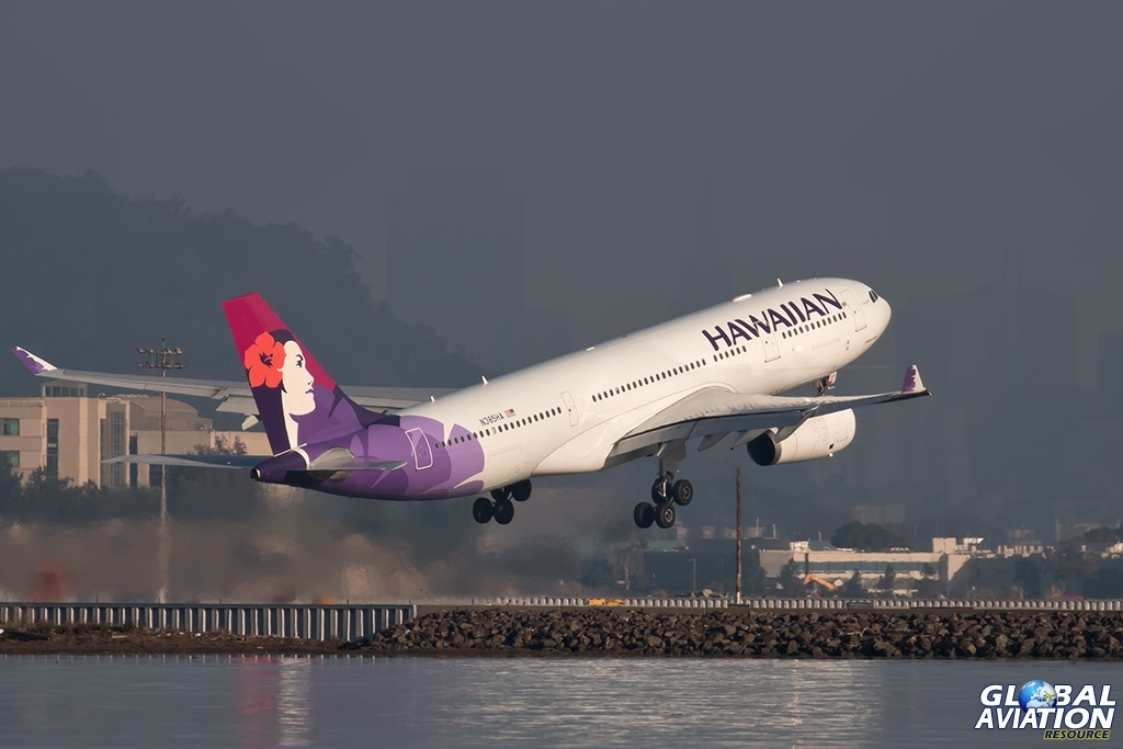 Hawaiian Airbus 330 - © Paul Filmer - Global Aviation Resource