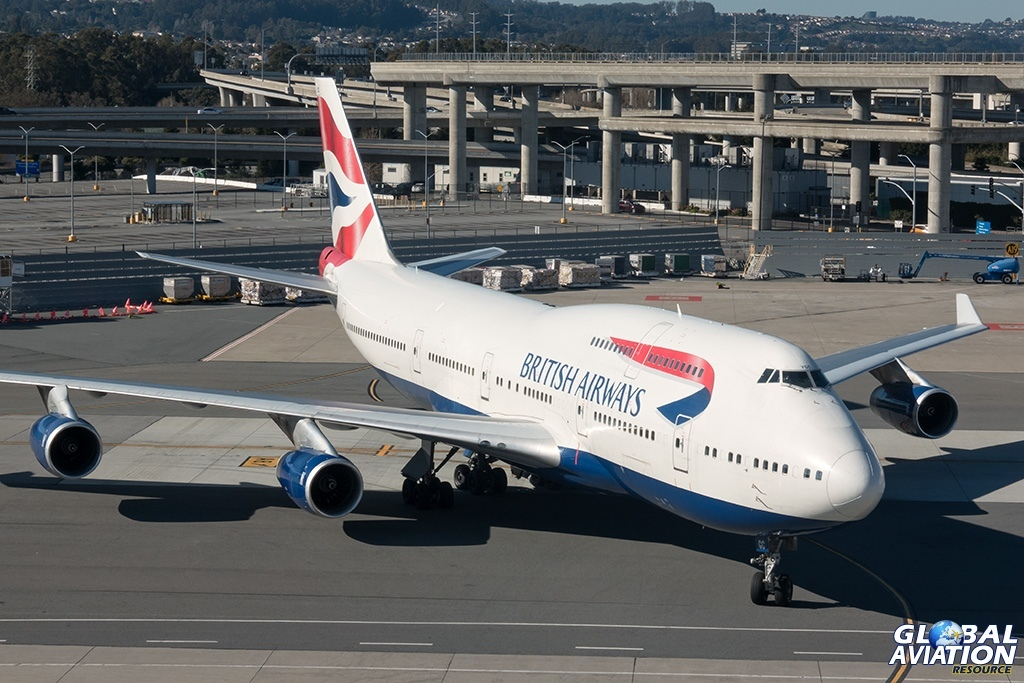 British Airways Boeing 747-400 - © Paul Filmer - Global Aviation Resource