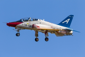 The CONA Jet approaches El Centro © Rob Edgcumbe - www.globalaviationresource.com