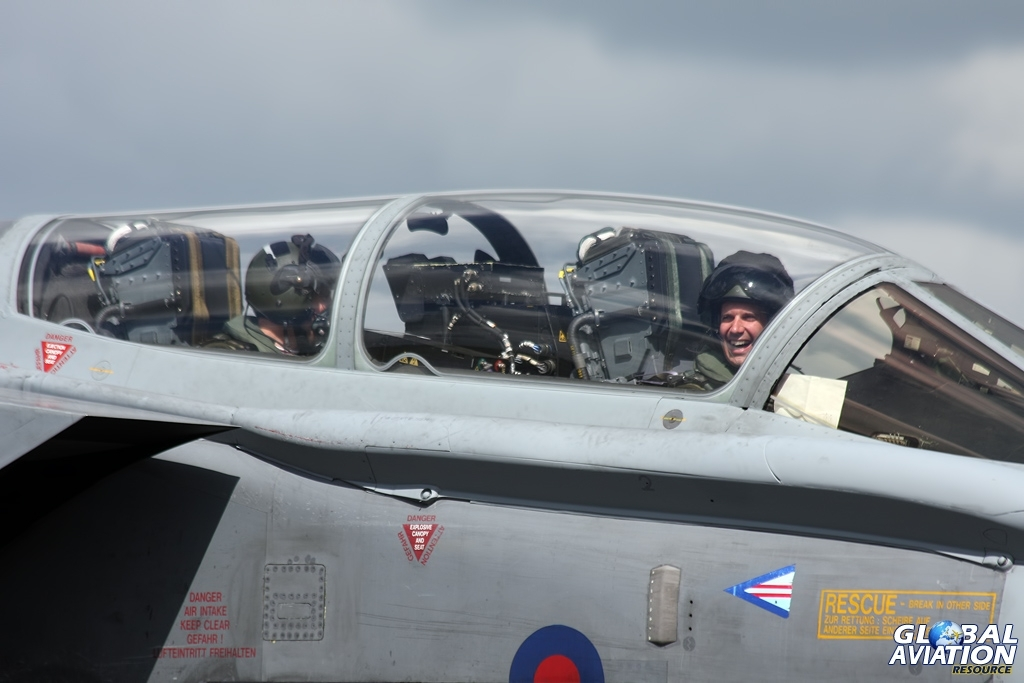 Woody was clearly a big fan of the GR.4! RAF Waddington International Air Show 2010 © Gareth Stringer - Global Aviation Resource