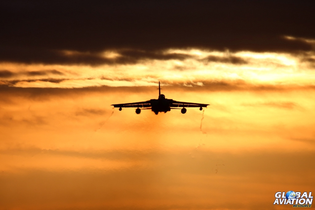 Tornado sunset © Karl Drage - Global Aviation Resource