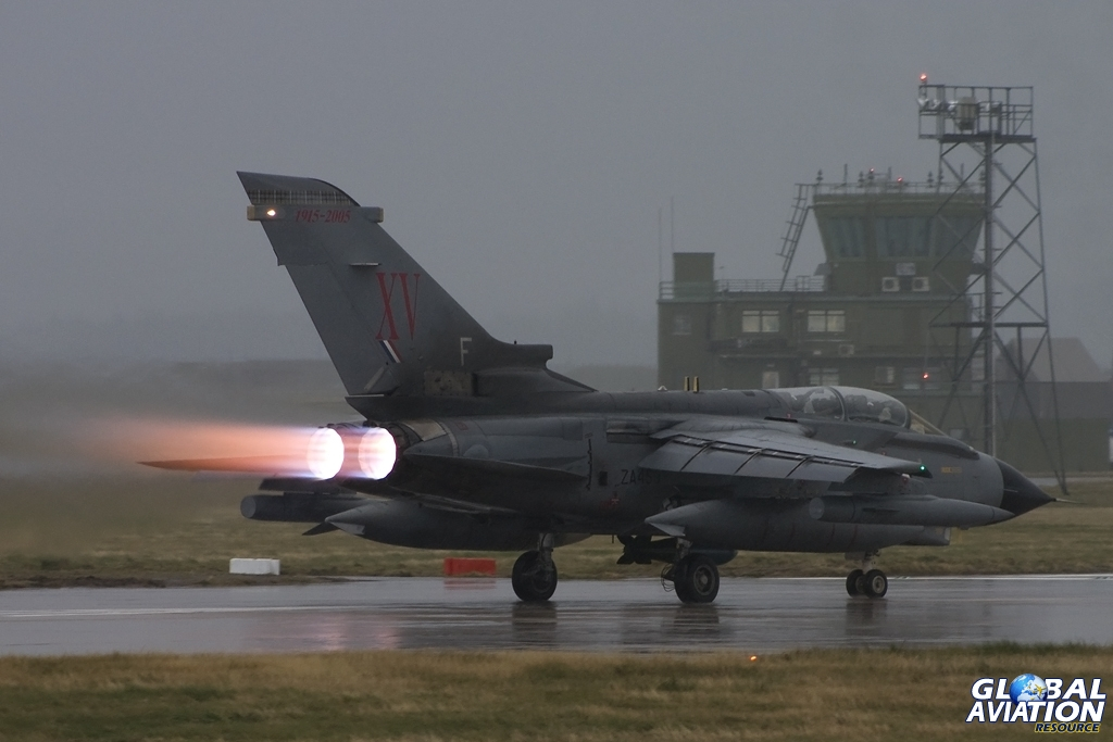 XV(R) Squadron Tornado GR.4 © Tom Gibbons - Global Aviation Resource