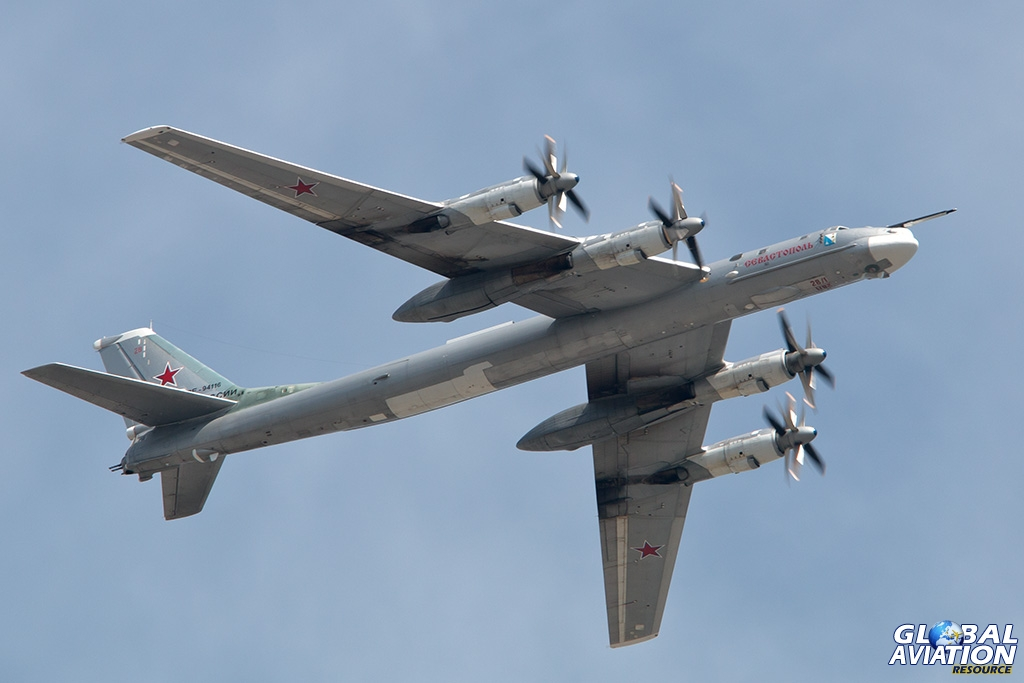 Tu-95MS - © Paul Filmer - Global Aviation Resource