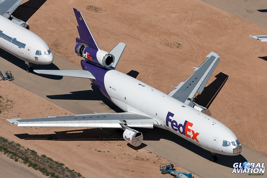 FedEx MD-10-30F N312FE - © Paul Filmer - Global Aviation Resource