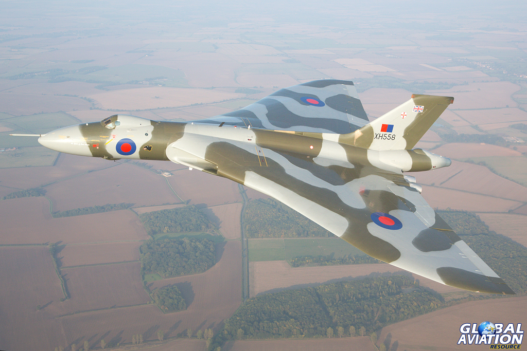 Avro Vulcan XH558 © Glenn Beasley - Global Aviation Resource