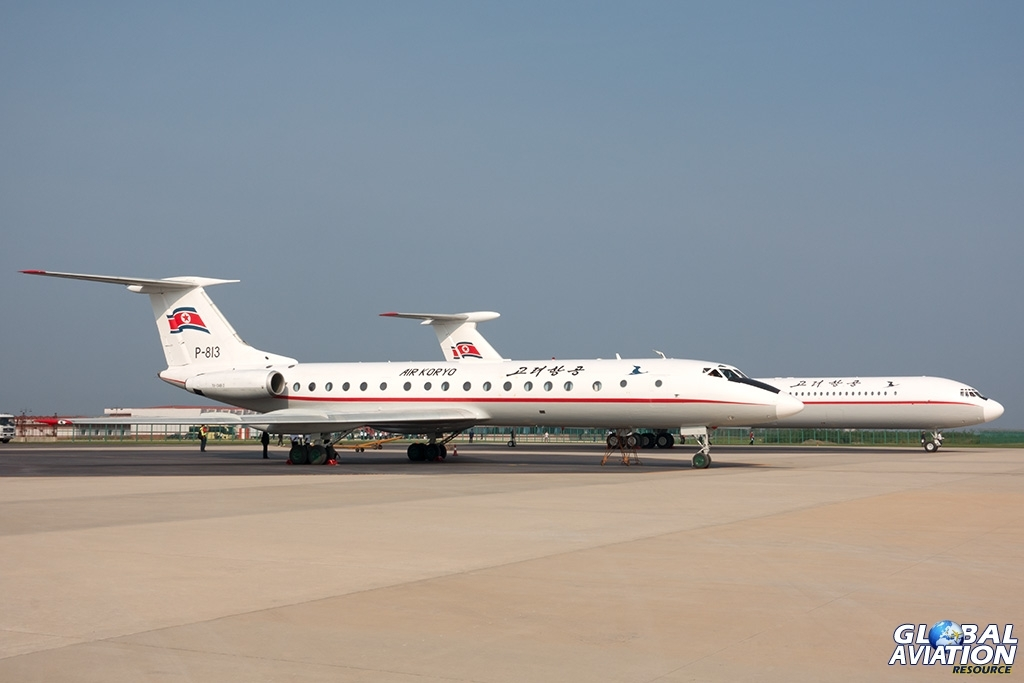 Air Koryo Tu-134B and Il-62M - © Paul Filmer - Global Aviation Resource