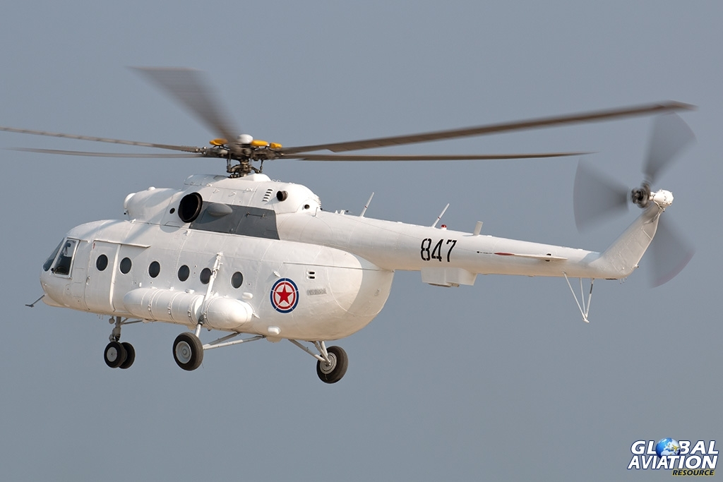 KPAAF Mi-17 - © Paul Filmer - Global Aviation Resource