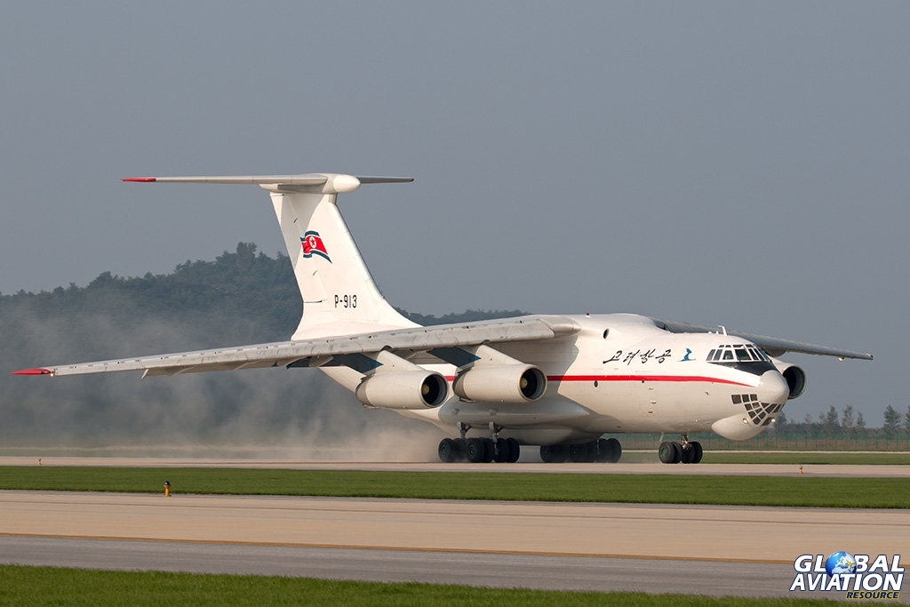 Air Koryo Il-76TD - © Paul Filmer - Global Aviation Resource