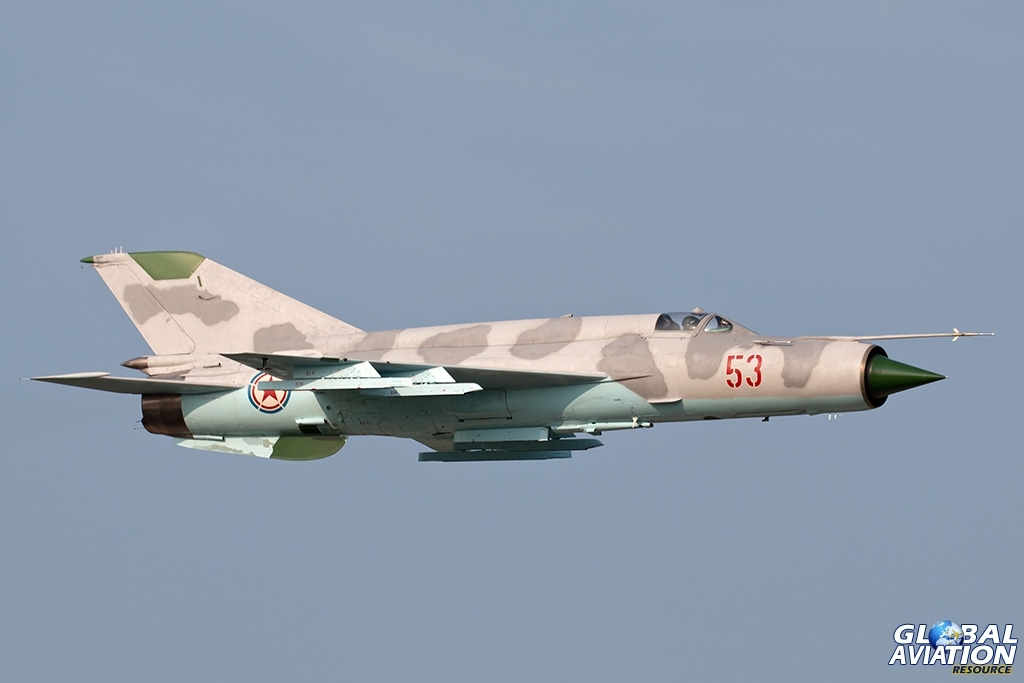 KPAAF MiG-21 - © Paul Filmer - Global Aviation Resource