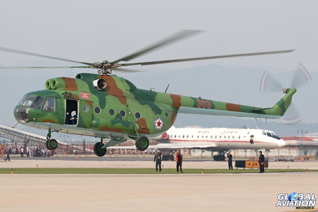 KPAAF Mi-8 - © Paul Filmer - Global Aviation Resource
