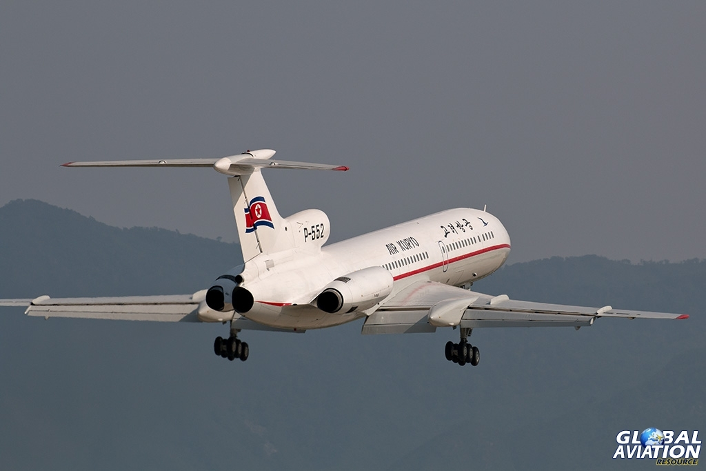 Air Koryo Tu-154B - © Paul Filmer - Global Aviation Resource