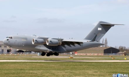 Aviation News – UAE C-17A Globemaster III visits Robin Hood Doncaster Sheffield Airport