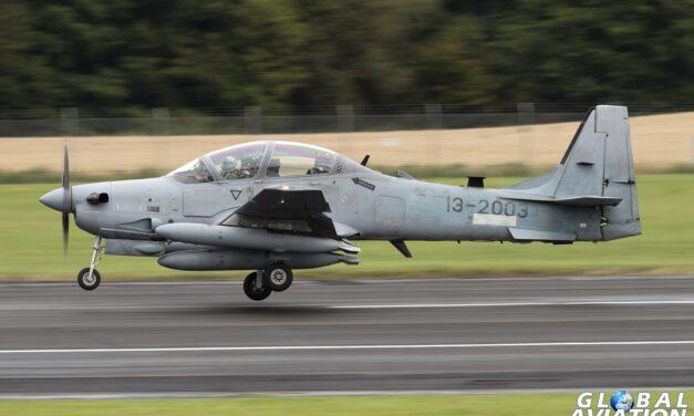 Aviation News – Afghan Super Tucano delivery flight