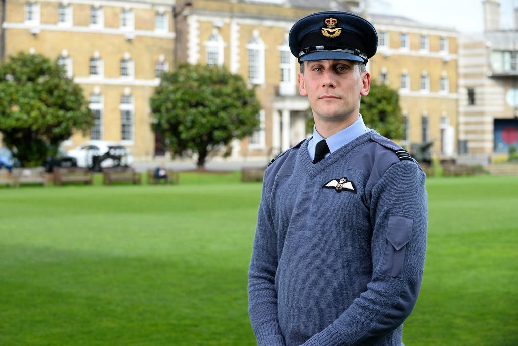 Flight Lieutenant Charlie Lockyear © MoD Crown Copyright 2014