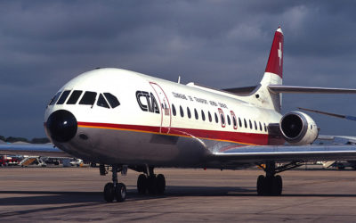 Aviation classics – the Sud Aviation Caravelle