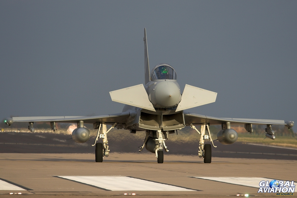 Aviation News – 17(R) Squadron Says Farewell to Typhoon