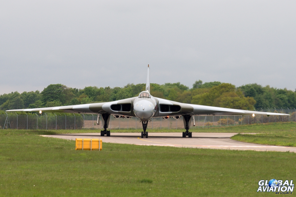 Aviation News – Vulcan First Flight of 2013 18th May 2013