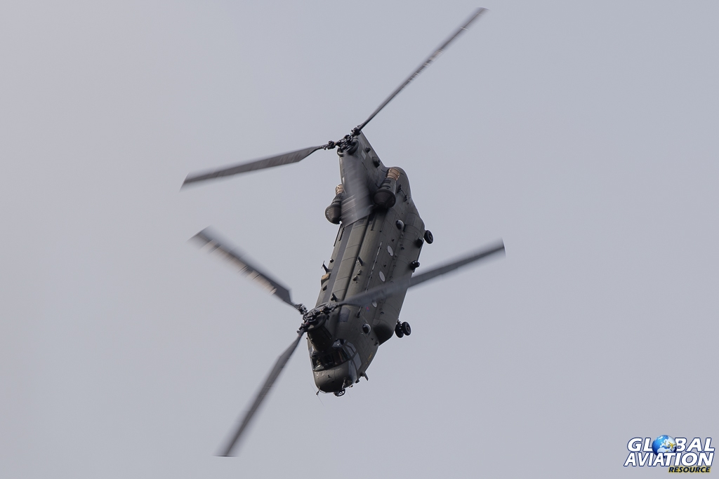 Aviation Feature – RAF Chinook Display Team 2013