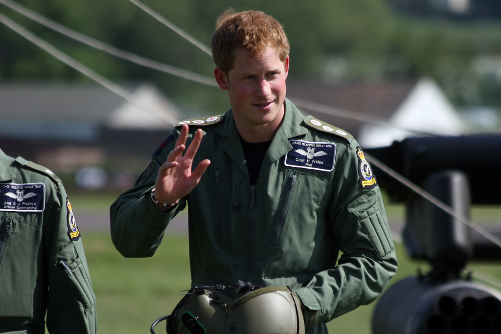 Aviation News – Prince Harry at RAF Cosford Airshow (updated)