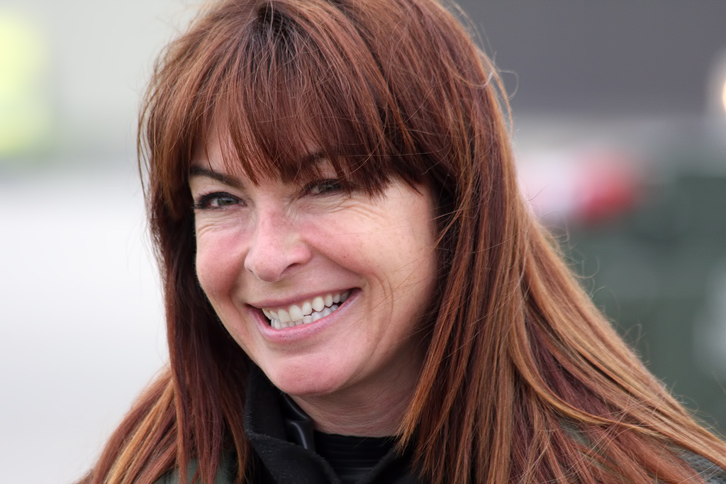 Airshow News – Suzi Perry launches Air Tattoo 2013 with Typhoon trip